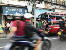 busy Bangkok street photography thailand