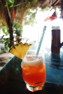 cocktail on the beach in Ko Lanta hire photo art director for thailand