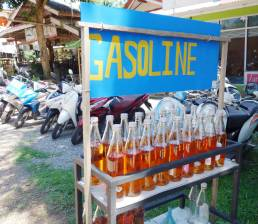 gasoline for sale Ko Lanta Thailand photography