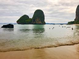 limestone rocks railey beach hire art director for thailand