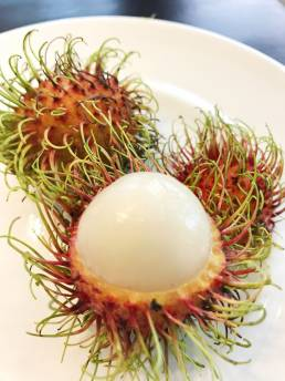 rambutan fruit thailand trip photos