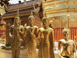 Wat Prathat Doi Suthep temple in Chiang Mai Thailand
