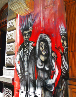 Buenos Aires street art goths photography travel