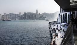 hong kong skyline walk of the stars travel photography