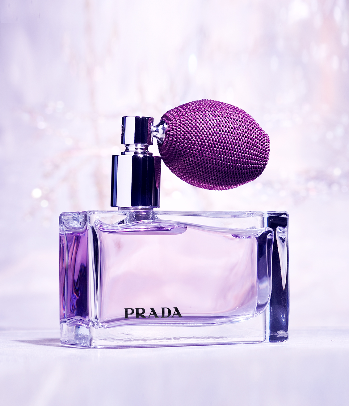Prada perfume professional product photography