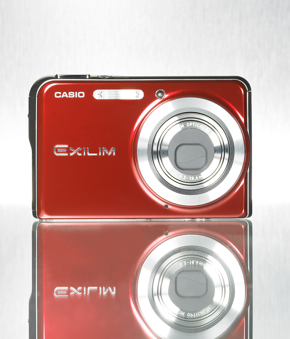 red digital camera product art director