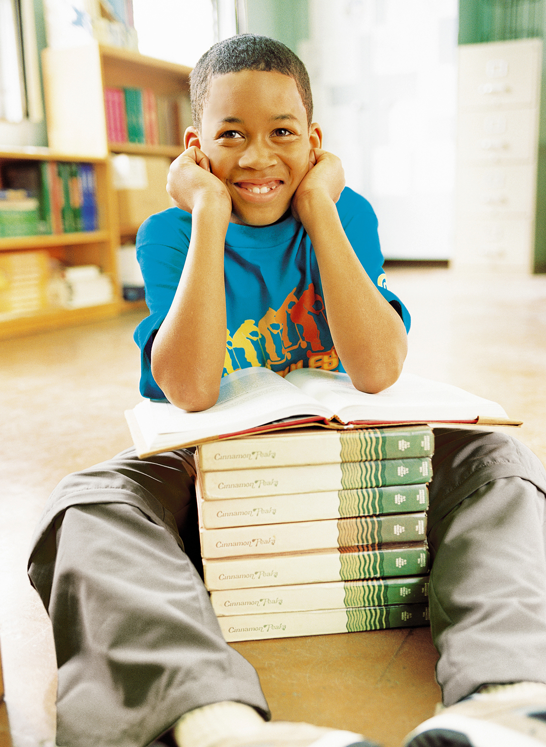 young student with books kids art director photography