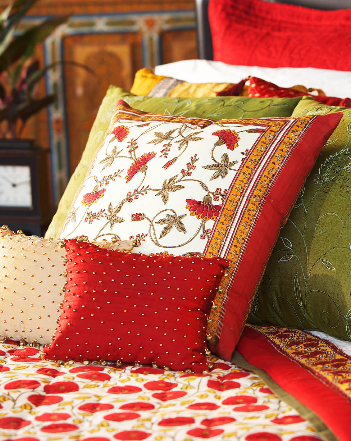 Morrocan bedding great interior design photography