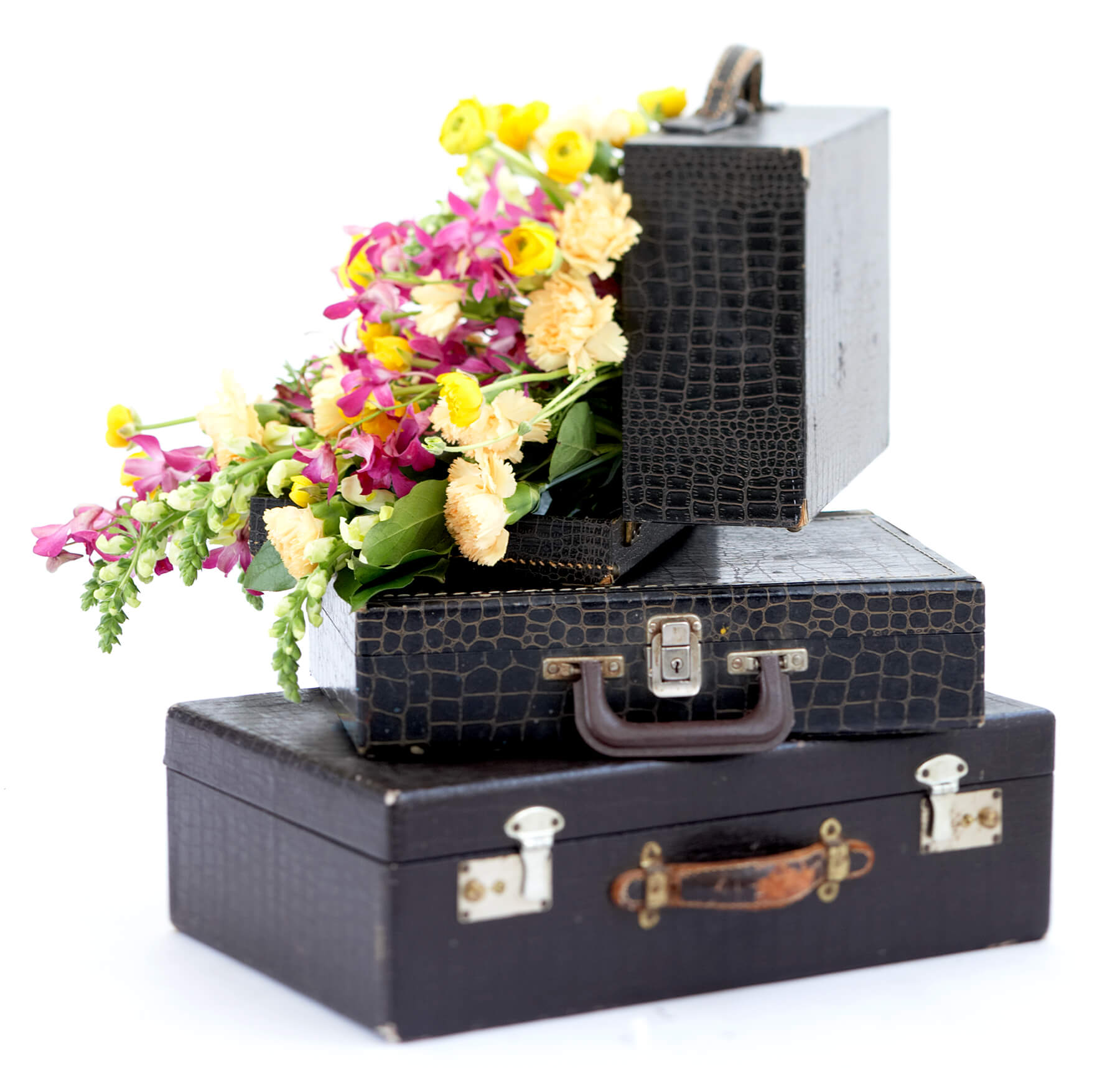 suitcase with flowers best interior design photography
